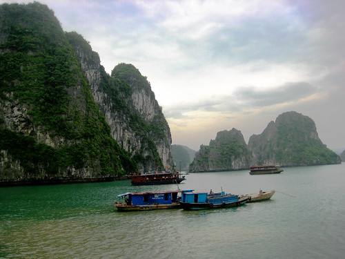 halong  bay (two)