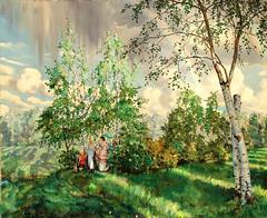 Somov, Constantin (1869-1939) - 1927 Rainbow (Christie's)