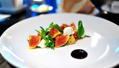 Small Dishes: Fresh Fig and Goat Cheese Salad