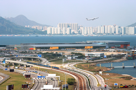 AsiaWorld-Expo is a five-minute train ride from the HK airport in Lantau. See you there!