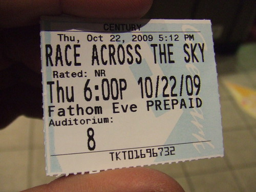 Race Across the Sky showing in Boulder, CO