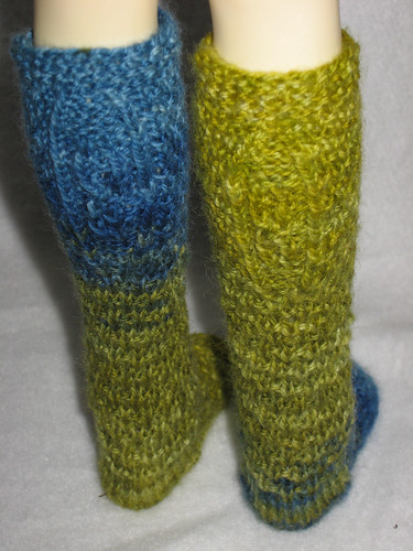 Knee Sock Medallions