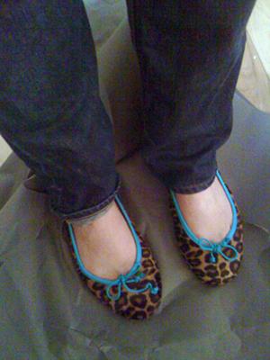 Pretty Balerinas Turkoise Leopard_1111