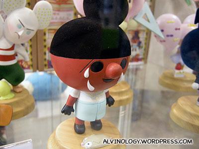 A vinyl doll by Apple Kingdom
