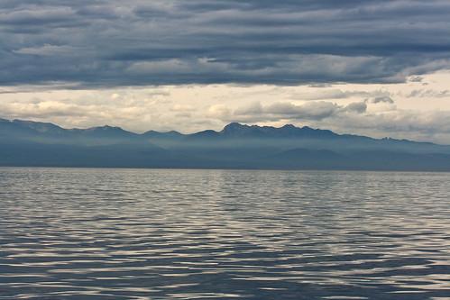 Looking towards Olympic Peninsula