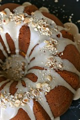 Kabocha-Maple Sour Cream Coffee Cake TOP