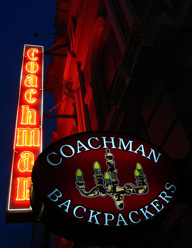 coachman backpackers neon