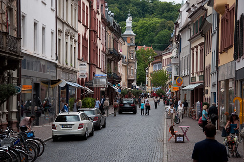 Just a street in Freiburg