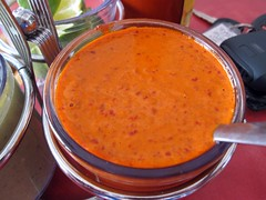 taqueria el rey del taco - smoked chipotle salsa