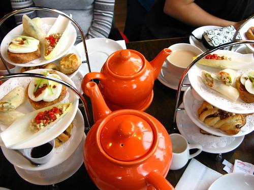Afternoon tea at Shaktea