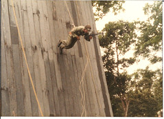 Australian Rappelling in the Jungle