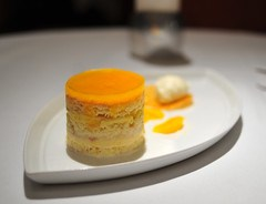 "Dessert: Mandarin Orange ""Creamsicle"" Cake"