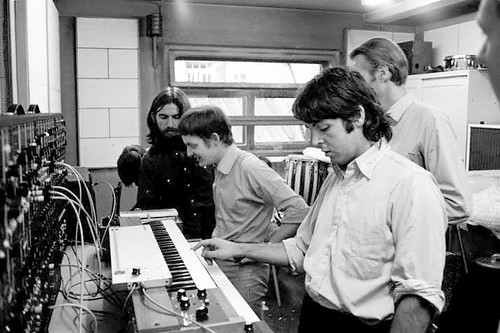 The Beatles produce some electronica