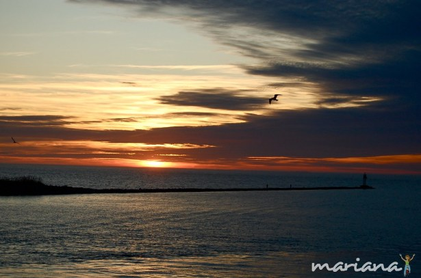 Sunset from the Cape May - Lewes ferry