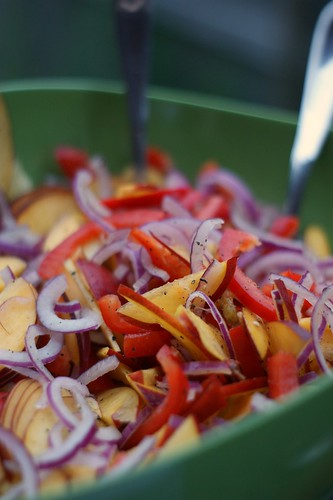 Feta-Nectarine Salad