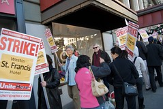 Local 2 on 3 day strike at Westin St Francis  234