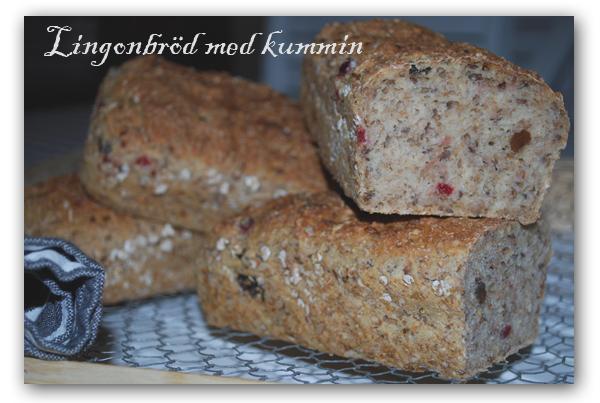 Lingonberry Bread