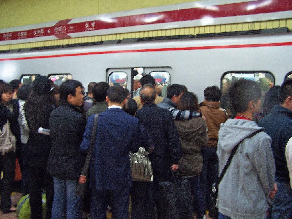 Les joies du métro