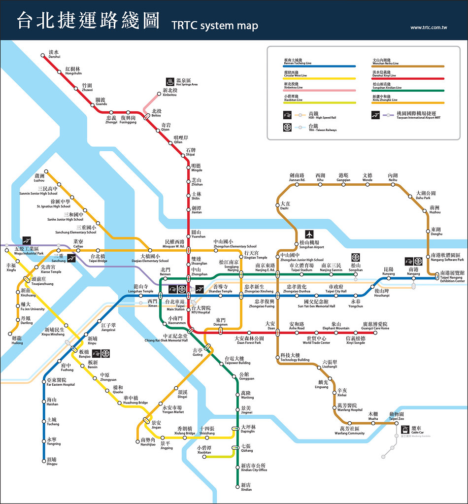 but. or bug… » 自製臺北捷運計畫路線圖