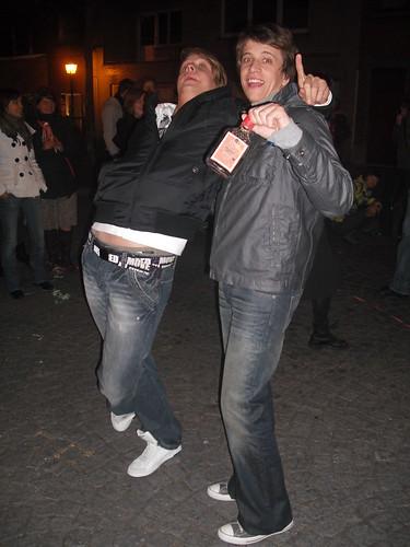 Bram en z'n vriend Franky ...