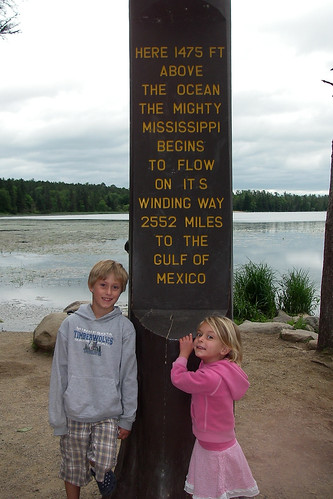 Sebastian & Sophia At The Head Of The Mississippi