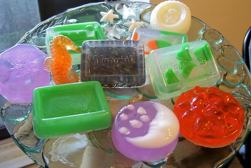 Plate of Soaps