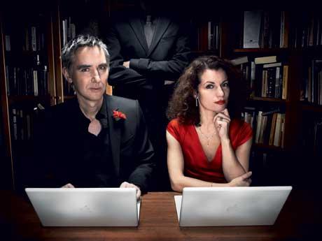 Alexander and Alexandra Ahndoril, by Carl-Johan Paulin