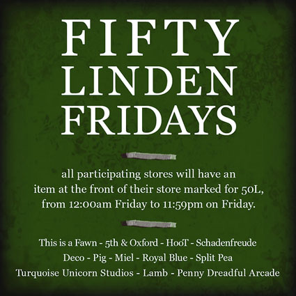 Fifty Linden Fridays Week 09
