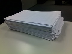 4 - Stack of paper