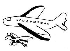 Flying Cow Airplane