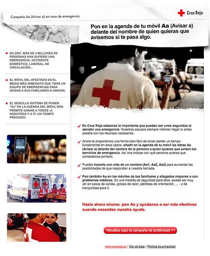 Aa Campaña Cruz Roja