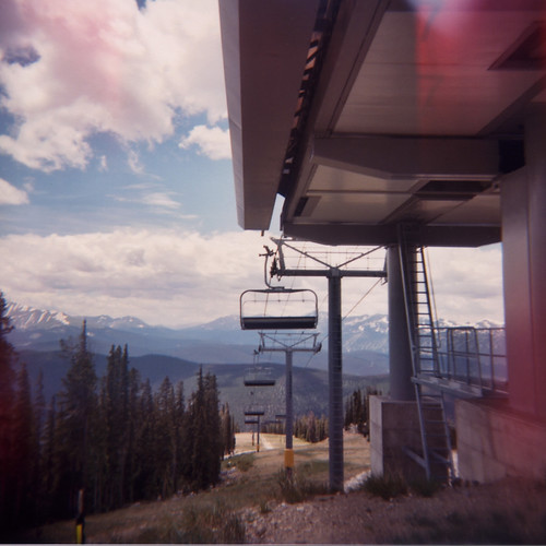 Keystone Through a Holga