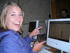 Sarah Kock on the 2009 Orientation Scavenger Hunt