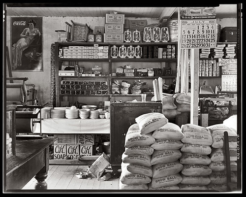 Photography: Storefronts ~1920