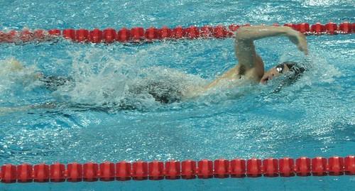 8ASC澳門泳手鄭永燊在200米自由泳比賽中
