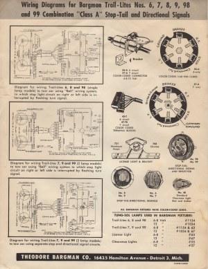 Original Bargman Light Wiring Diagram