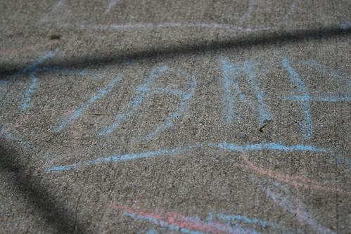 KIANA - in chalk