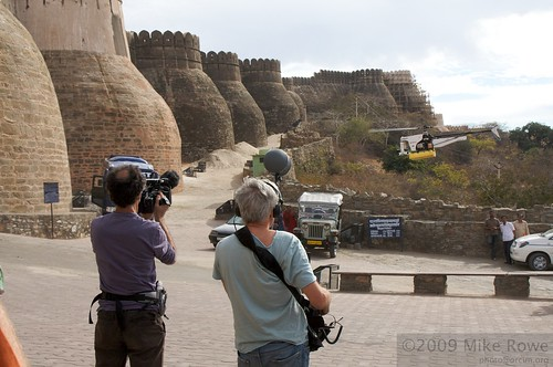 Filming at Kumbalgarh