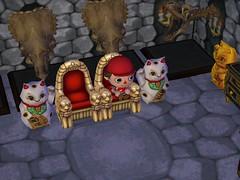 Dan in his Throne Room