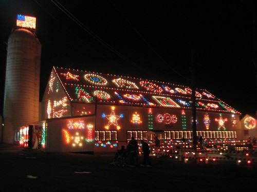 Christmas Barn in Bernville