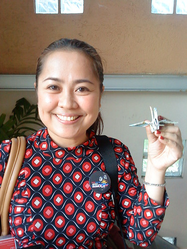Paper Crane #18 | Ina Reformina, ABS-CBN Channel 2 field News Reporter