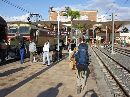 Marrakech - railway station