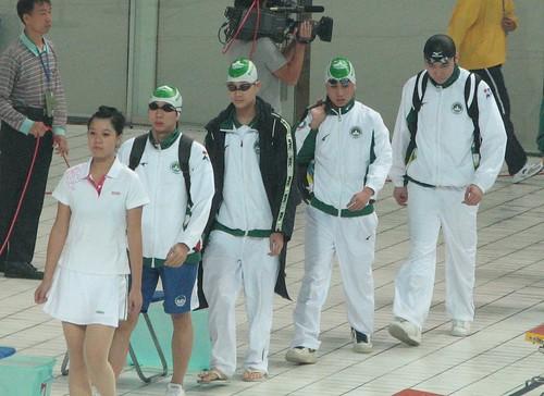 8ASC敖博文、蕭健禧、周文傑及鄭永燊出賽4乘100米混合泳接力決賽