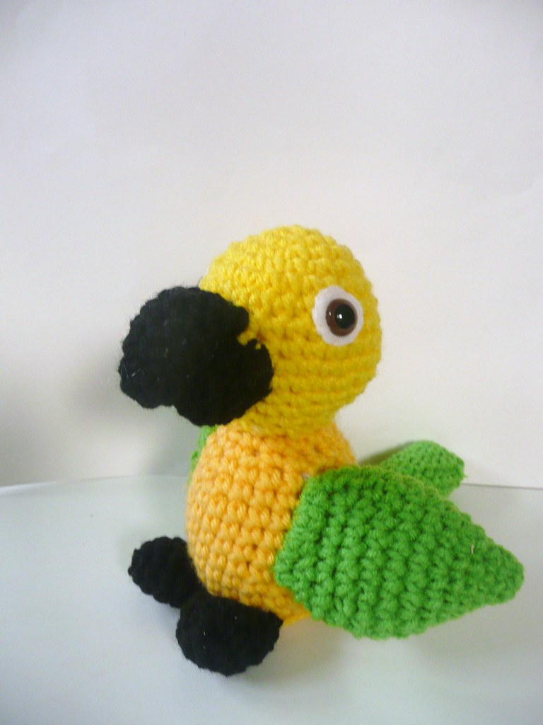 Stuffed Sun Conure Animal