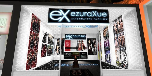 + eX + ezura Xue store at JRF sim