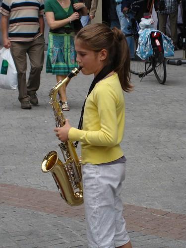 Alto saksofon ziyafeti - 1