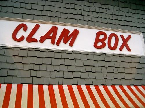 The Clam Box Ipswich MA