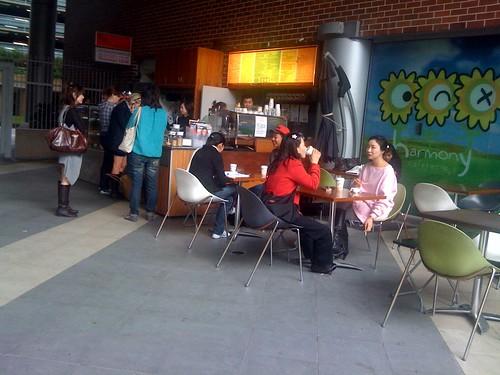 Harmony cafe, Haymarket