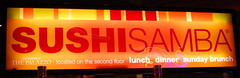 SushiSamba- we had dinner here on my birthday in Vegas