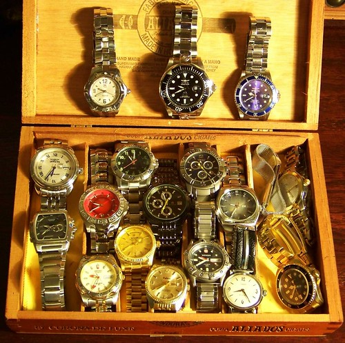 My Metal Banded Watches